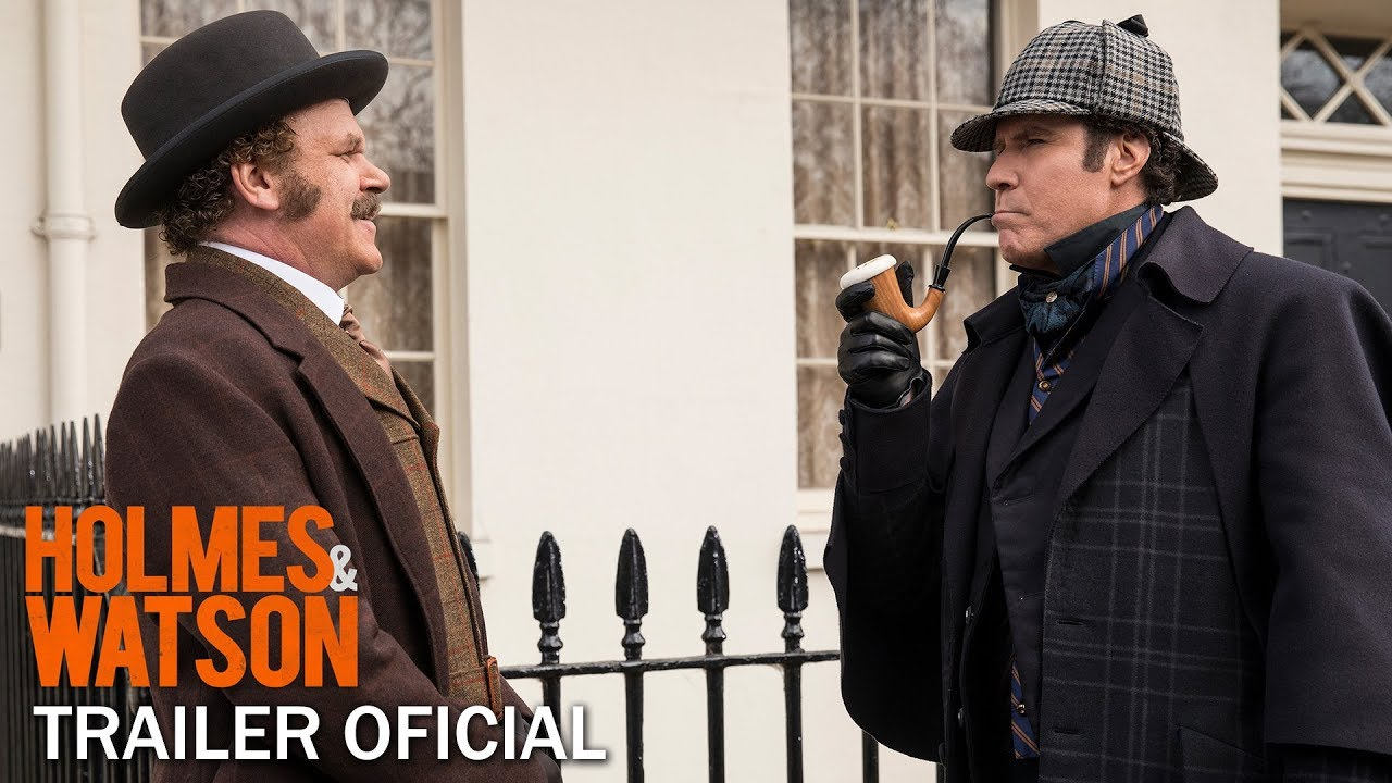 """Holmes & Watson"" - Trailer Oficial (Sony Pictures Portugal)"