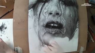 Hyperrealistic Portrait Drawing