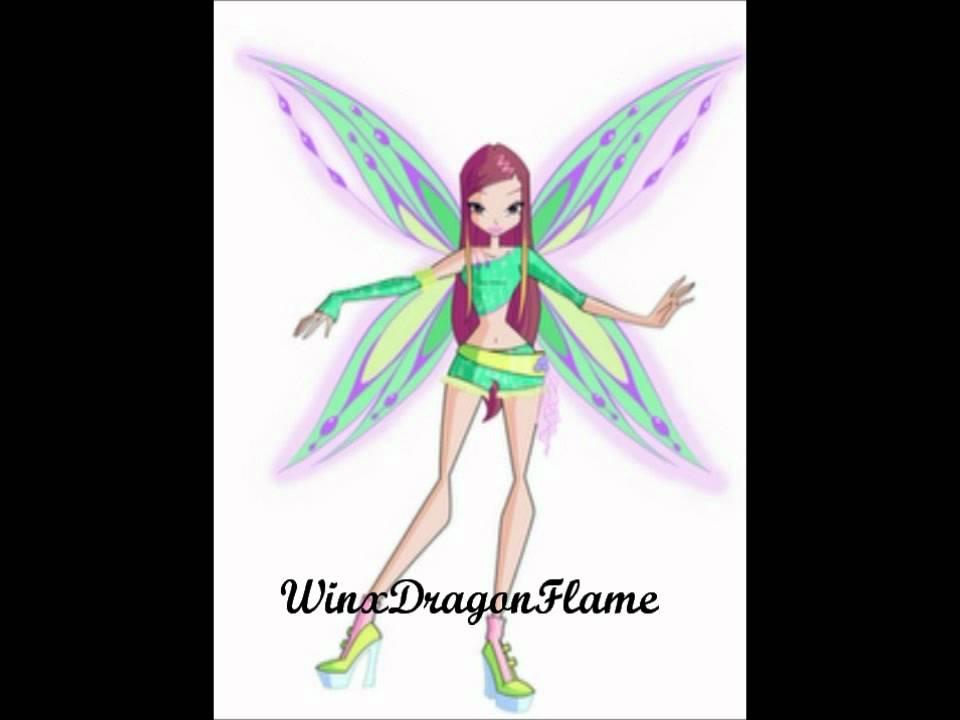 Winx Club Roxy Believix Wings Speedix Tracix Zoomix
