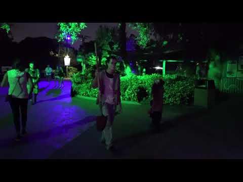 [4K] Bonus Scare Zone Busch Gardens Tampa Bay Opening Night 2018