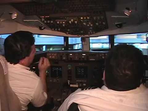 Deltaflight Boeing 767 flight simulator