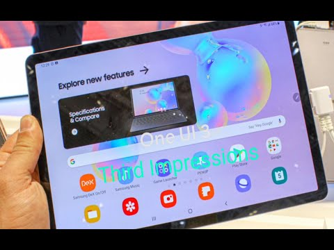 Samsung Galaxy Tab S6 One Ui 3.1 (Android 11) Third Impressions