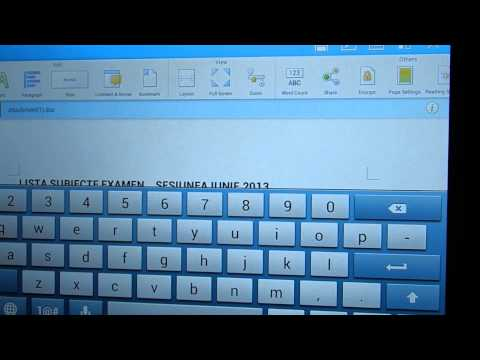 Kingsoft Office Android App