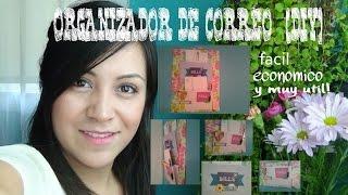 ORGANIZADOR DE CORREO DIY Thumbnail