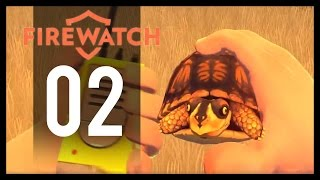 Firewatch Gameplay - Part 2 - Turtle (PC Let