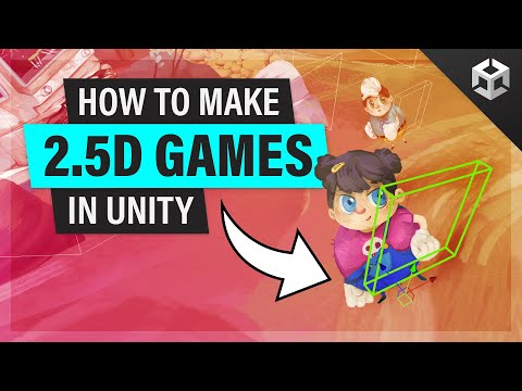 2.5D Game in Unity | Part 1 | TUTORIAL thumbnail