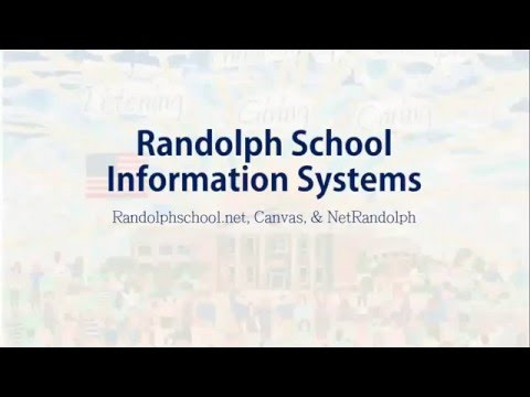 Randolph School Information Systems Overview