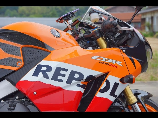 癒しサウンド CBR 600RR Repsol(ARROW製マフラー(HRC))
