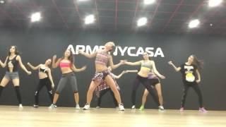 Dancehall, открытый урок  Школа танцев ArmenyCasa Белгород  Кира