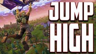 Fortnite Jump Pad Glitch - Lancement vers le ciel! Conseil avancé
