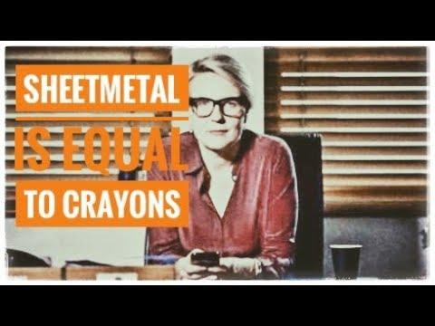 Sheet Metal is equal to Crayons - Tanya Plibersek