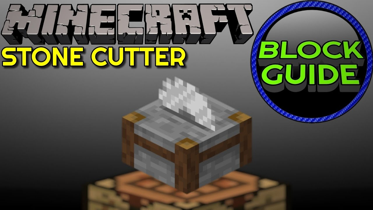 How To Craft And Use Stonecutter - Minecraft Java Edition