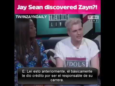 Jay Sean talk of Zayn!