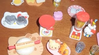 """Re-ment """"hello Kitty I Love Cooking"""" Unboxing"""