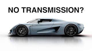 Why Doesn't The Koenigsegg Regera Have A Transmission?