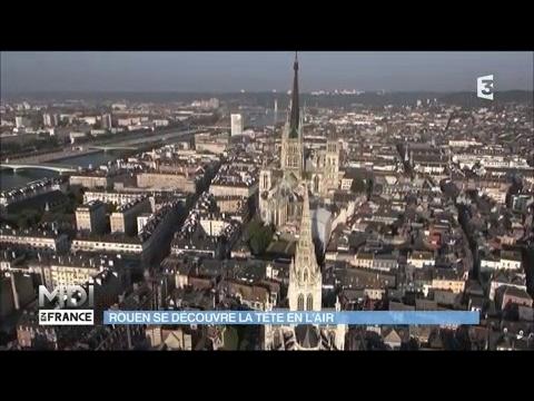 Rouen se découvre la tête en l'air