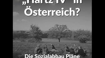 """""""Hartz IV"""" in Österreich?"""