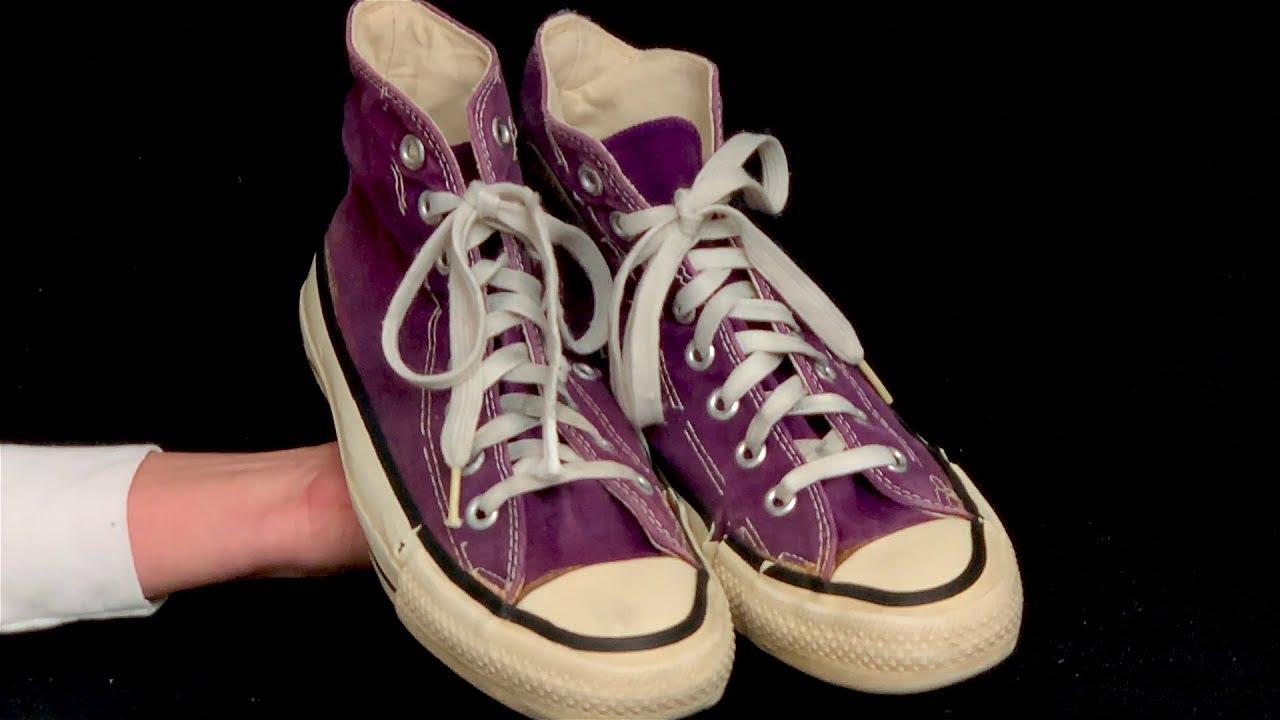 0c621ed00a19 Vintage USA-MADE Converse All Star Chuck Taylor purple