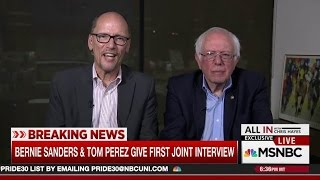 DNC Head's Corporatism Shows In Interview With Bernie