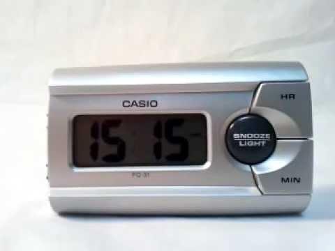 27095cad44b Будильник Casio PQ-31-8E - YouTube