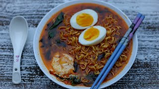 chicken ramen noodles soup
