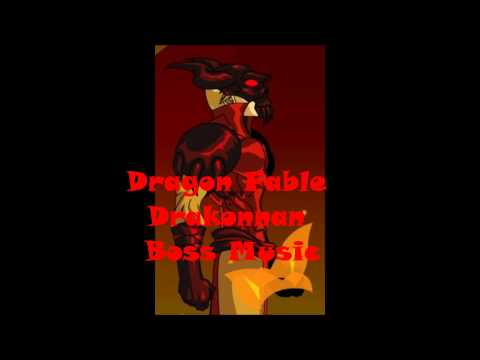 Dragon Fable Drakonnan Boss Music HD