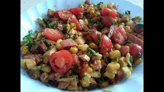 Вкусненький салатик! Простой рецепт салата.