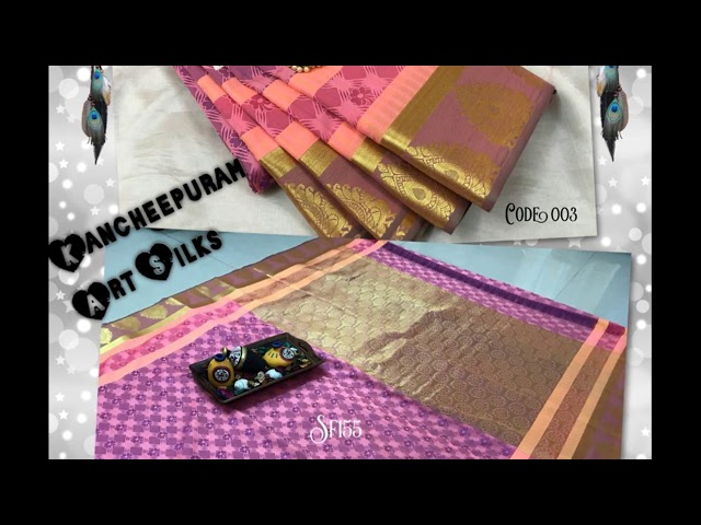 Kancheepuram Art Silks Sarees Below 3000 Rupees | New Models | Latest Collections