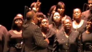 "New Life Tabernacle Mass Choir sings ""We Shall Overcome"" @ BAM MLK celebration"