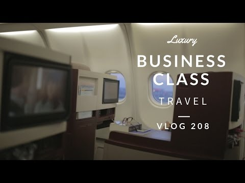 TRAVEL VLOG - A GREAT BUSINESS CLASS - JETAIRWAYS BUSINESS CLASS - Travel Vlog
