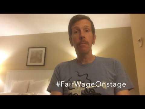 Robert Stanton FairWageOnStage