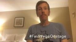 Robert Stanton #FairWageOnStage