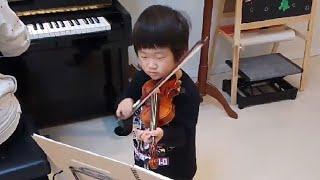 手裏剣戦隊ニンニンジャーの さあ!行け!ニンニンジャーをヴァイオリン...