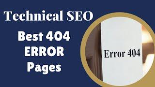 Best 404 Error Pages: SEO Training Part 1 Step 2d