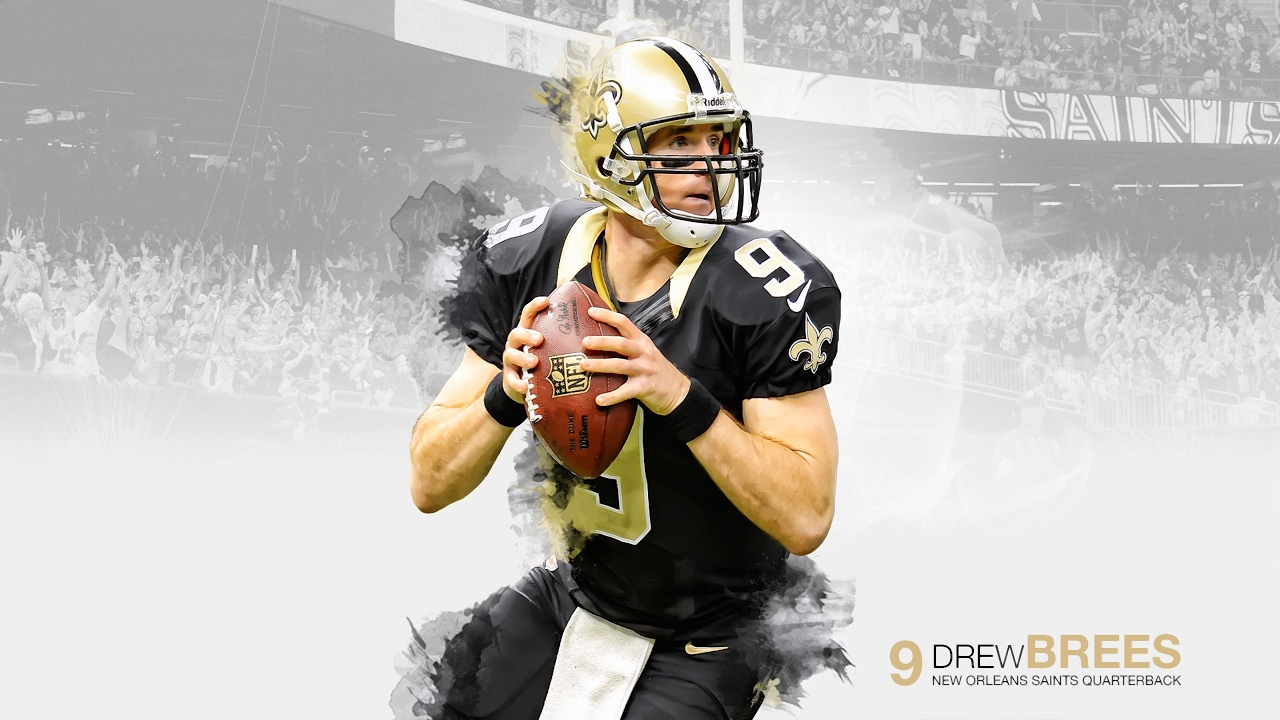 49ers 3d Wallpaper Drew Brees Quot Hall Of Fame Quot 2016 Highlights Youtube