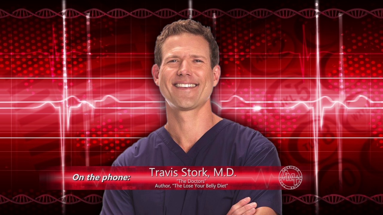 Dr. Travis Stork on belly-shrinking diets and staying healthy in 2018
