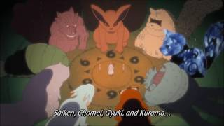 Names of the Tailed Beasts by Rikudou Sennin   Naruto Shippuuden