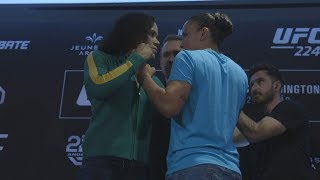 UFC 224: Media Day Faceoffs
