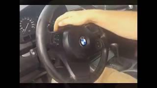 Как снять руль BMW X6