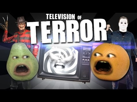 Annoying Orange - TV of TERROR!