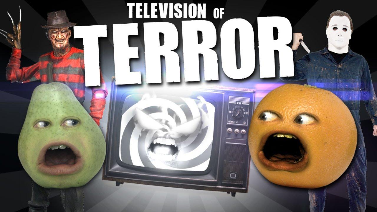 annoying orange tv of terror youtube. Black Bedroom Furniture Sets. Home Design Ideas