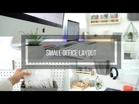 Small Office Layout Ideas Modern Chic Organization Youtube