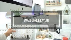 Small Office Layout Ideas Modern Chic Organization