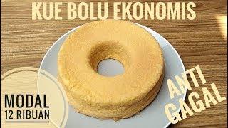 Resep kue bolu ekonomis anti gagal