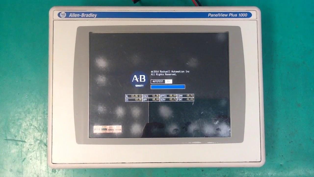 404810 - Allen Bradley PanelView Plus 1000 - 2711P-T10C4D8 - 51540014