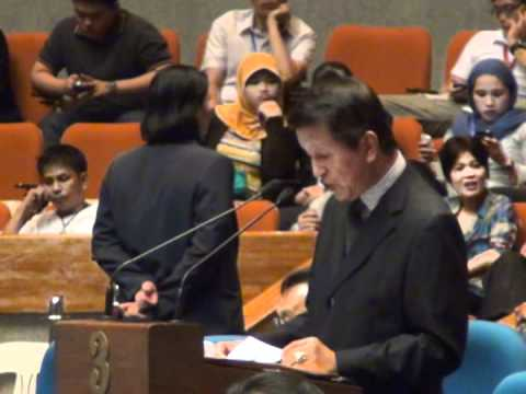 Roilo Golez, Panatag or Scarborough Shoal Stand-Off, 7 May 2012 - 1
