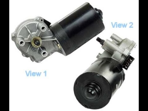 2000 Lincoln Replace Repair Remove windshield wiper motor