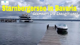 Travel Germany | Exploring Starnbergersee In Tutzing | Boating in Germany | Germany Travel Vlogs
