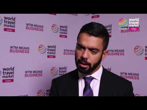 H.E Saif Saeed Ghobash from Abu Dhabi Tourism and Cultural Authority at WTM 2016 London