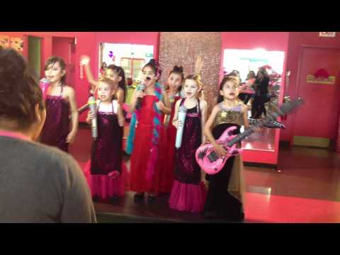 Olivias 7th Sweet & Sassy pop star Birthday party
